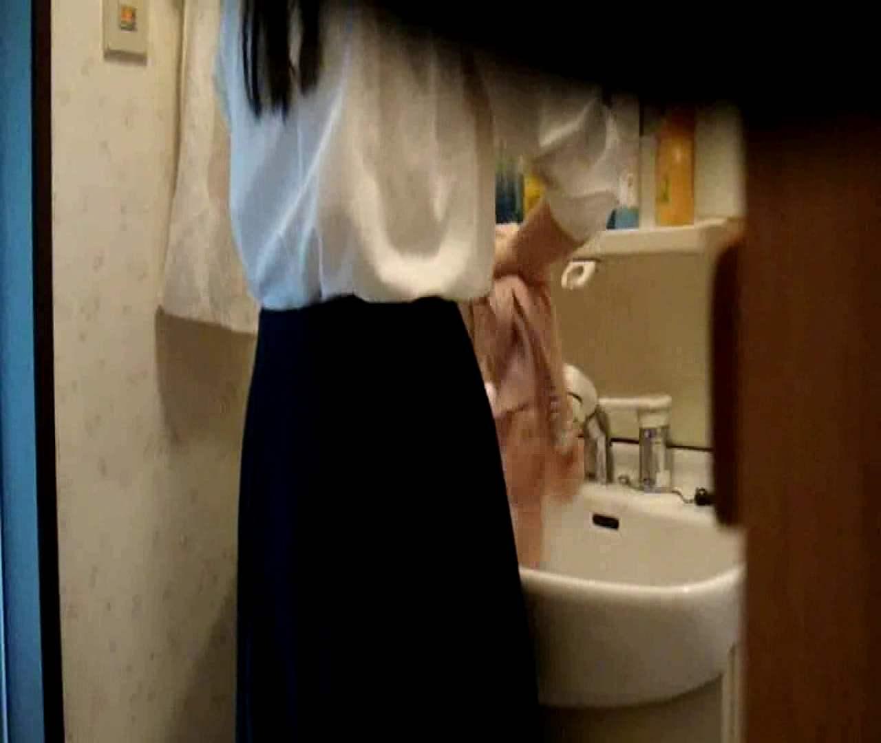 二人とも育てた甲斐がありました… vol.05 まどかが洗顔後にブラを洗濯 盗撮特集   おまんこ  86画像 15