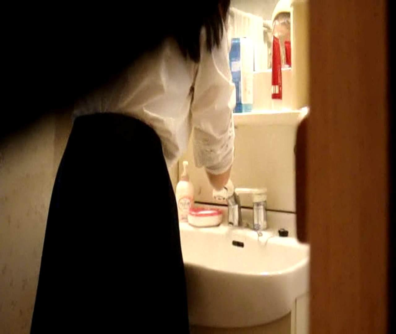 二人とも育てた甲斐がありました… vol.05 まどかが洗顔後にブラを洗濯 盗撮特集   おまんこ  86画像 43