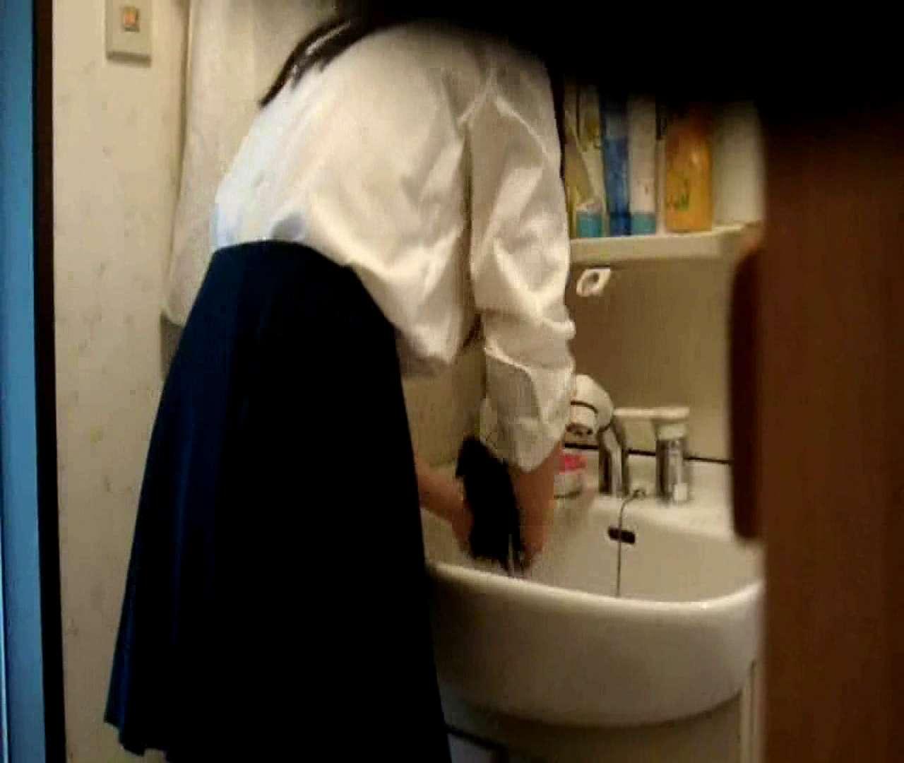 二人とも育てた甲斐がありました… vol.05 まどかが洗顔後にブラを洗濯 盗撮特集   おまんこ  86画像 78